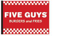 Five Guys Flag - Red