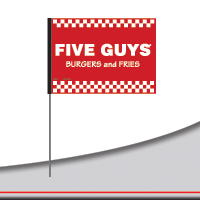 Five Guys Flags