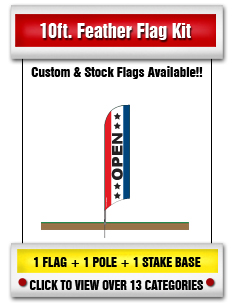 10' Feather Flags