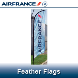 Air France Feather Flags