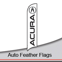 14' Auto Feather Flags