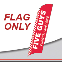 Five Guys Flag Onlys