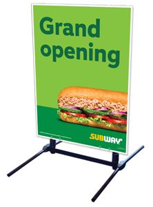 Outdoor Self Standing Sign - Grand Opening