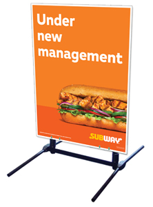 Outdoor Self Standing Sign - Under New Management