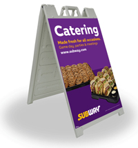 24 x 36 A-Frame - Catering