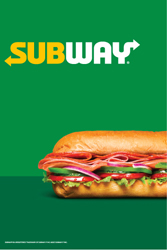 24 x 36 A-Frame Panel Set - Subway Logo