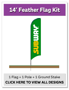 14' Feather Flags