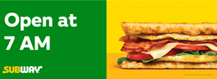 Horizontal Breakfast Banner
