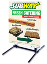 Outdoor Self Standing Sign - We Catering