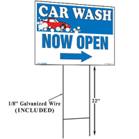 Car Wash Now Open