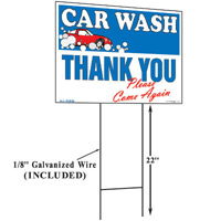 Car Wash Thank You